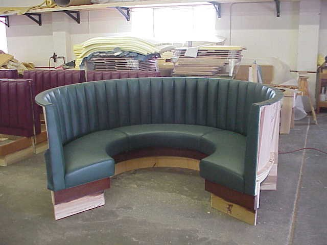 Restaurant Upholstery Projects Completed By Pacific Westline
